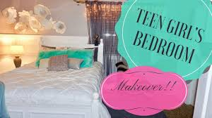 teen u0027s bedroom makeover youtube