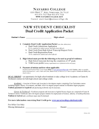 online health class for high school credit navarro college dual credit new student checklist
