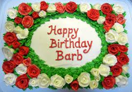 ronna s merry birthday cake