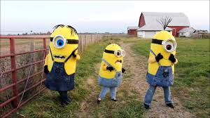 minions halloween costumes for kids homemade despicable me minion costumes youtube