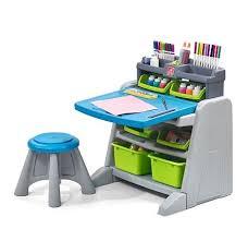 step 2 easel desk kohl s step2 flip doodle easel desk stool only 42 49 reg 99