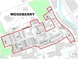 Baltimore City Map Woodberry Historical And Architectural Preservation