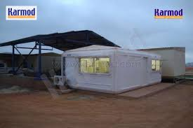 prefab camp mining camp construction eritrea prefabricated container