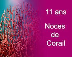 11 ans de mariage 11 ans de mariage noces de corail