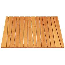 bathroom dark teak bath mat for cozy bathroom decor ideas plus