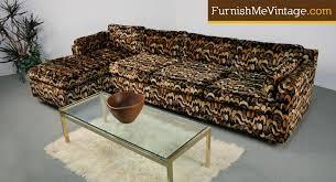 velvet sectional sofa retro 1970s velvet sectional sofa