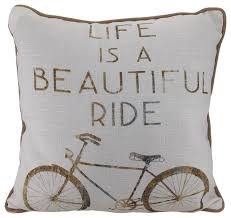 theme pillows is a beautiful ride bicycle theme throw pillow 17