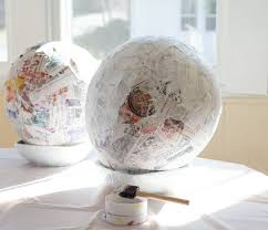large paper mache egg papier mache easter eggs how to make easter eggs