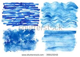 free vector blue watercolor background download free vector art