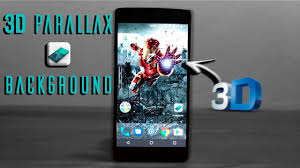 3d parallax background live wallpaper youtube