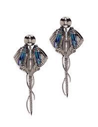 outhouse earrings chrysalis gunmetal earrings