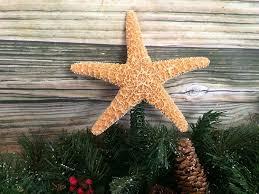 amazon com sugar starfish christmas tree topper handmade