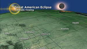 Denver Traffic Map Best Places In Colorado To See The Solar Eclipse Cbs Denver