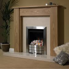 ovington natural oak finish surround 48 inch star buy