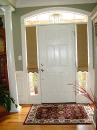 Curtain Ideas For Front Doors by Glass Front Door Treatment Ideas Wooden Treatments Windows More