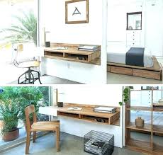 Small Desk Storage Ideas Small Desk With Shelves Above Desk Storage Small Desk With