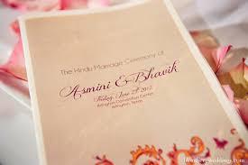 Indian Wedding Program Template Dallas Texas Indian Wedding By Greg Blomberg Maharani Weddings