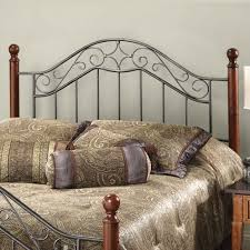 Iron And Wood Headboards Elegant Headboards Made Out Of Wood And Metal