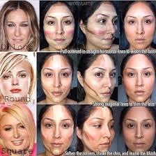 best way to contour diff face shapes contouring makeup