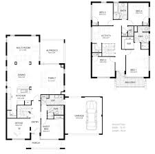 5 bedroom floor plans two story thefloors co
