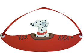 kayak breed ornament non designs dogs on the move