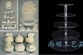 acrylic cake stands 5 tier wedding cupcake stand new arrival assemble and disassemble