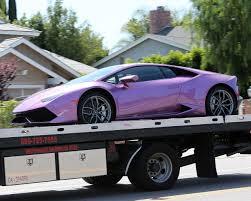 lamborghini purple rob kardashian buys fiancee blac chyna a purple lamborghini see