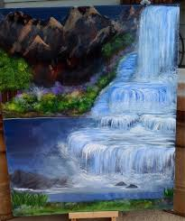 Feng Shui Painting Original 16 X 20 Acrylic Painting On Canvas