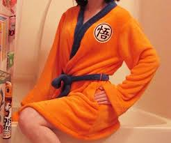 ball goku bathrobe