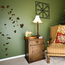 falling leaves wall decal nature wall decal autumn wall art