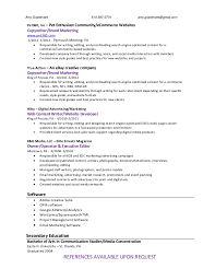 Resume Style Guide Amy Giardiniere Entertainment Writer Resume Proofreader Resume
