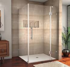 Shower With Door Completely Frameless Shower Collections