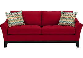 Microfiber Contemporary Sofa Amazing Red Microfiber Sofa 20 Contemporary Sofa Inspiration With