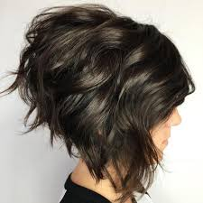 how to stlye a stacked bob with wavy hair 60 fabulous choppy bob hairstyles
