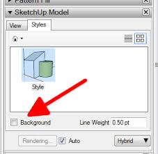 where did transparent background go layout sketchup community
