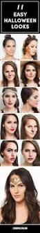 11 easy halloween makeup looks