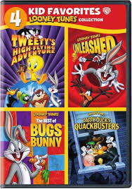 4 kid favorites baby looney tunes dvds looney