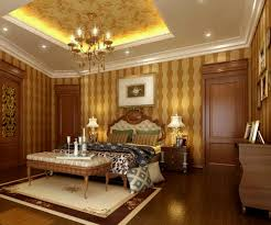 luxury master bedroom with glowing deep tray ceiling design also