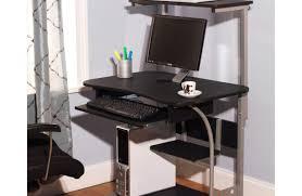 Movable Computer Desk Desk Metal Computer Desk With Glass Top Stunning Mobile Computer