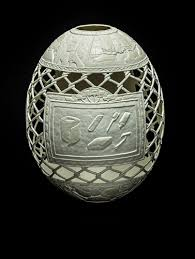decorated ostrich eggs for sale hardboiled gil batle s debut in new york brut