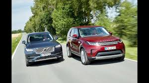 2017 land rover discovery vs 2017 volvo xc90 youtube