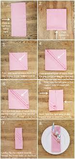 how to fold table napkins three pocket fold napkin tutorial napkins third and tutorials