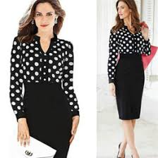 buy mid calf work dresses online at low cost from work dresses
