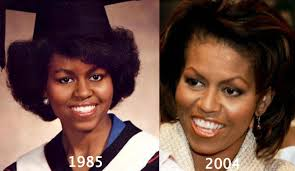 does michelle obama wear hair pieces michelle obama plastic surgery before and after photos
