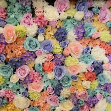 flower wholesale 2018 wholesale artificial flower wall silk wedding flower support