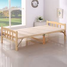 Folding Wooden Bed Buy Free Shipping Self Wood Folding Bed Folding Bed 1 M Free
