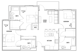3 bed 3 bath a currie hall student housing los angeles ca