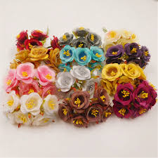 How To Make Decorative Gift Boxes At Home 6pcs Artificial Silk Stamens Wedding Home Decoration Diy