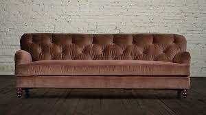 Antique Tufted Sofa by Furniture Velvet Couch Loveseat Settee Blue Velvet Sectional Sofa