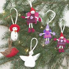 felt christmas tree decor ema decorations felt christmas tree